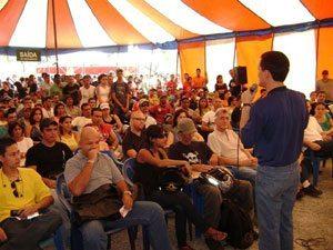 Foto: Dia do Motociclista é comemorado em Belo Horizonte com palestras educativas