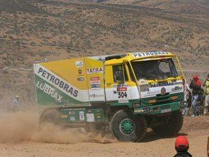 Mais uma vez, caminhão conquista o melhor resultado entre os brasileiros no Rally Dakar