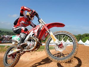 Foto: Ratinho, piloto da MX1 do Team Honda