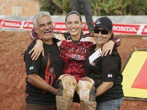 Foto: No mesmo motódromo, Mariana Balbi venceu uma etapa de Brasileiro