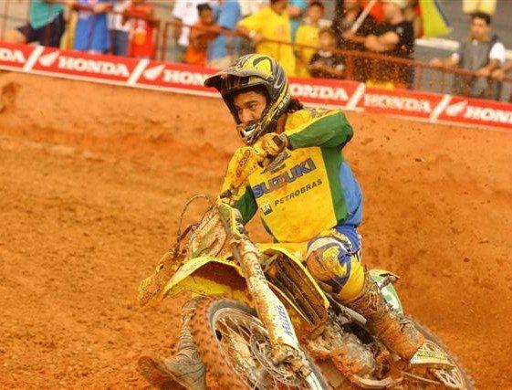 Foto: CampeÆo brasileiro de motocross: Marronzinho