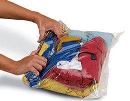 Sacos plásticos: roupa cheirosa e seca