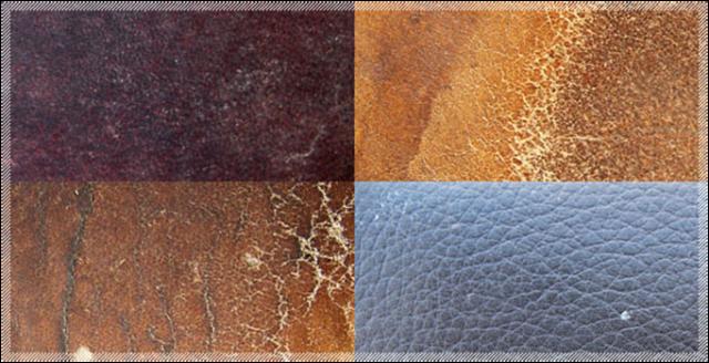 Existem vários tipos de couro