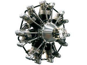 Foto: Motor radial de 7 cilindros