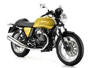 Moto Guzzi V7 Café Classic mostra a beleza do design italiano