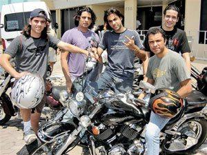 Motociclismo na terra do Mico-Leão