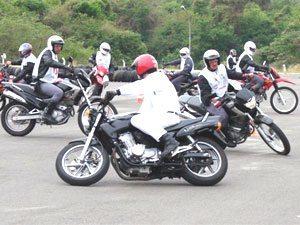 Foto: Mais treino e bom senso são dicas para motociclistas novatos