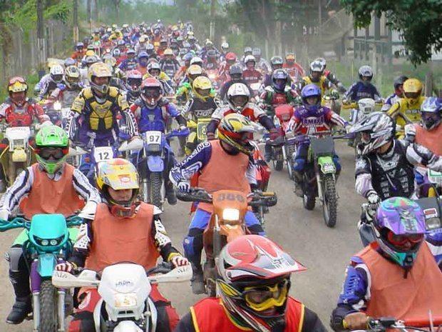 Motociclistas Participam da 2ª Trilha da Queda Neste Final de Semana