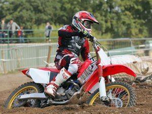 Foto: Wellington Garcia - piloto do Team Honda representa o Brasil no Motocross das Nações 2008