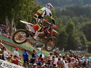 Foto: Cedric Melotte, piloto Honda no Mundial de Motocross