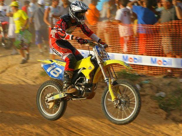 Foto: Ramos, piloto da MXJr do Brasileiro de Motocross