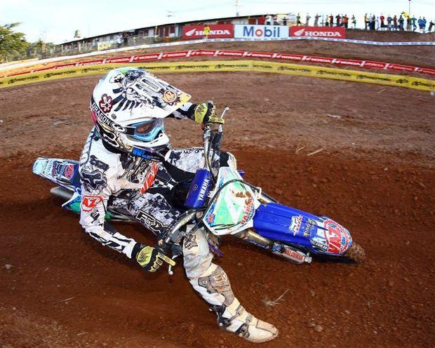 """Foto: Marcello """"Ratinho"""", piloto da categoria MX1 do Brasileiro de Motocross"""