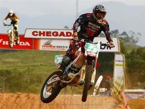 Foto: Wellington Garcia, piloto da categoria MX1 do Brasileiro de Motocross