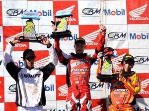 Foto: Hector Assunção, piloto da MXJr do Team Honda