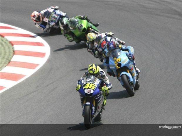 MotoGP pronto para acção de Sachsenring