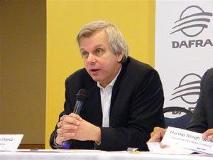 Foto: Presidente da Dafra, Sr. Creso Franc