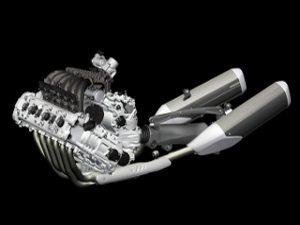 Motor BMW  K1600GT 6 em linha - Divulgação BMW