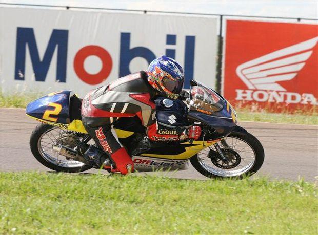 Foto: Murilo Ribeiro ' pole na 125cc