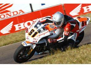 Foto: Fabio Peasson, da Hornet, no Brasileiro de Motovelocidade