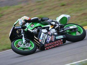 Foto: Carlos Cruz est em segundo lugar na Hornet