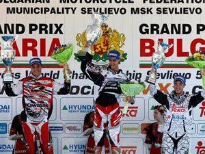 Foto: Marvin Musquin, piloto Honda no Mundial de Motocross