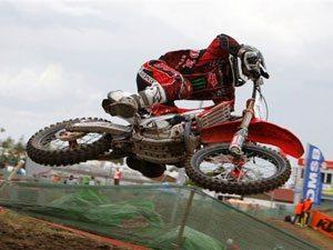 Foto: Billy Mackenzie, piloto Honda no Mundial de Motocross