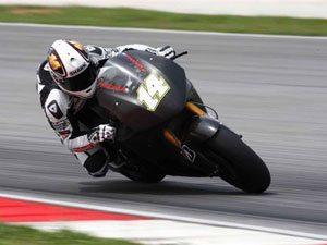 Foto: Randy De Puniet, piloto da equipe LCR Honda RC212V na MotoGP