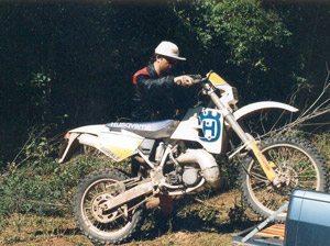 Foto: Se a moto ' alta, des‡a e empurre!