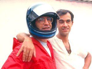 Foto: Nino (esq.) junto com Tite nos anos 80