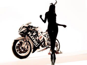 Nos bastidores com a LCR Honda e a Playboy