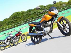 Em 2010 a Titan já se aproximava do estilo da CB 300 e continua com o mesmo visual