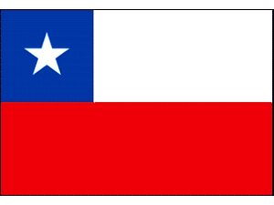 Foto: bandeira do Chile