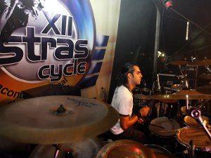 Escolhido como melhor baterista do Grande Rio no festival que reuniu 22 bandas, Fabrício Araújo estará pela sexta  vez no Ostrascycle com a Faixa Etária