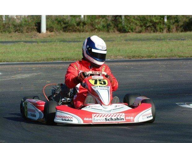Panamericano de Kart: Fabiano Machado começa o campeonato entre os três primeiros