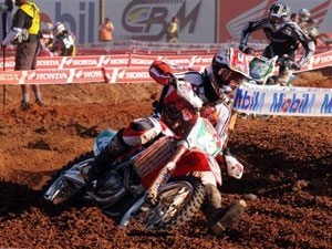 Foto: Leandro Silva, piloto da MX1 do Team Honda