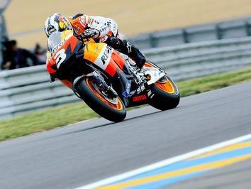 Pedrosa na pole position do Grande Prémio de França
