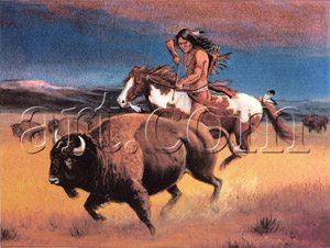 Foto: Öndios sioux pilotam cavalos sem as mÆos