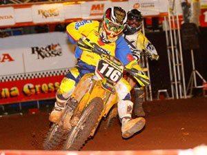 Foto: Gabriel Zenni, piloto da categoria Júnior