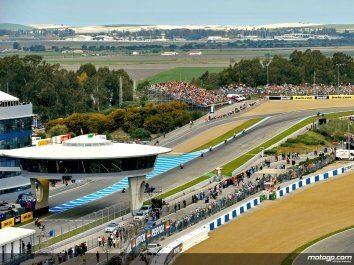 Pilotos de MotoGP em Jerez para último teste de 2008