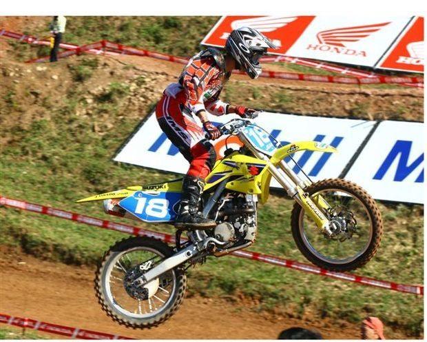 Foto: Jean Ramos defende invencibilidade no Brasileiro de Motocross