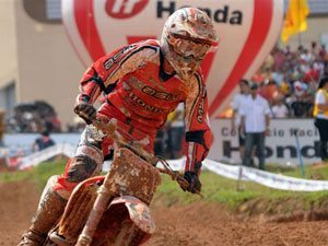 Foto: Dudu Lima, piloto MX2 do Team Honda