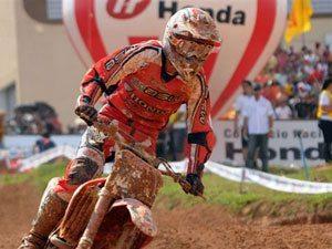 Foto: Dudu Lima, piloto MX2 do Team Honda