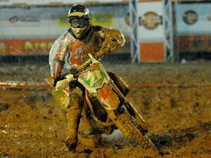 Foto: Wellington Garcia, piloto da categoria Pro do Team Honda no Arena Cross