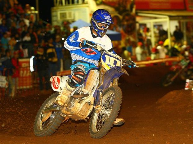 Foto: Cristopher Castro ' piloto da categoria MX1 do Brasileiro