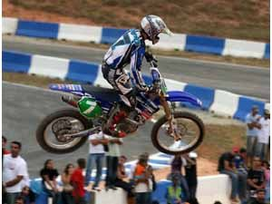 Foto: Pipo Castro, que reassumiu a lideran‡a do Arena Cross