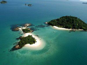 Foto: A Ilha de Cataguás, em Angra dos Reis, é um dos pontos turístico que poderão ser visitados pelos motociclistas