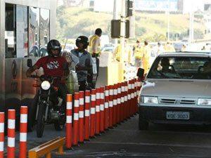 Pista mista de pedágio já em operação na Ponte Rio-Niterói