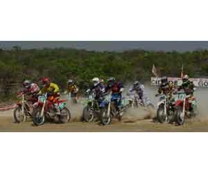 Poeira e emoção na 6ª do Goiano de Motocross