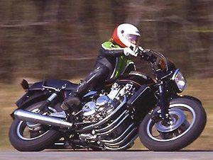 Foto: Kawasaki Z1300 de seis cilindros