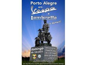 Porto Alegre em Vespa e Lambretta é demais!